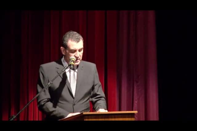 Cerimônia de posse - Prefeito, vice prefeito e vereadores 01/01/2017 - parte 1